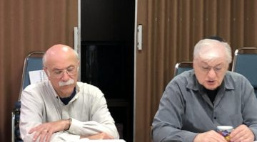 Brill Joe and Sofer Torah Study